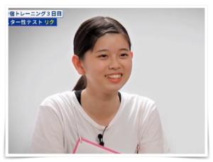 虹プロジェクト韓国合宿行き合格メンバーの大江梨久