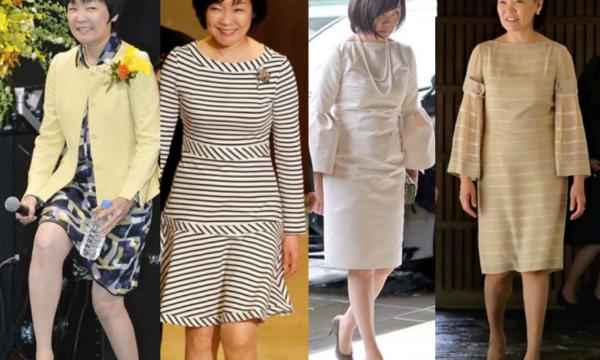 安倍昭恵の服装,膝丈スカート,美脚自慢,ブランドや炎上の画像