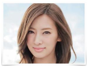 キスマイ藤ヶ谷の歴代彼女の北川景子の画像