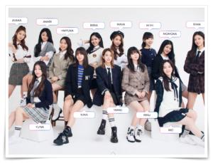虹プロジェクト韓国合宿メンバー
