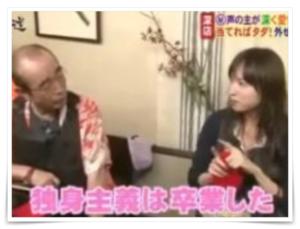 石野真子と志村けんの共演番組の画像