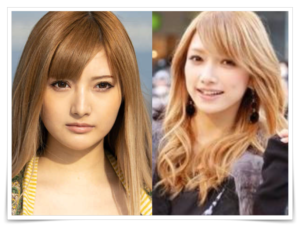 安斉かれんと後藤真希の似ている画像