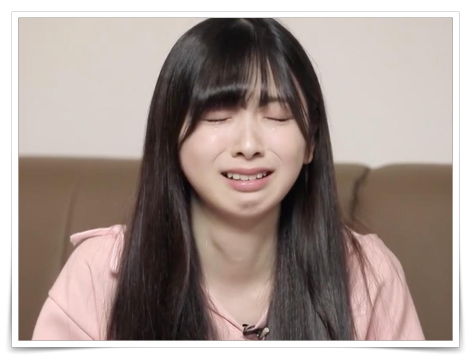 ミイヒの泣き顔の画像