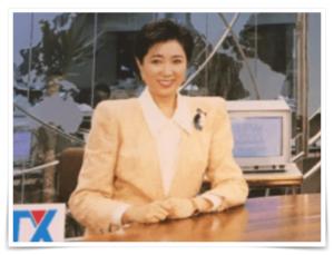 小池百合子のアナウンサー時代画像