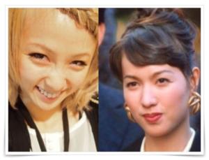 石野陽子とAmiが似ていている画像