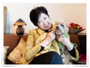 小池百合子の愛犬の画像