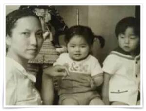 蓮舫の幼少期と母親の画像