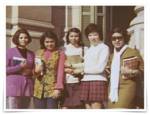 小池百合子のエジプト留学 学歴 若い頃