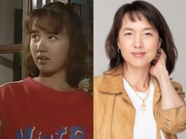 石野陽子の若い頃と現在の画像, Amiに似ていている画像