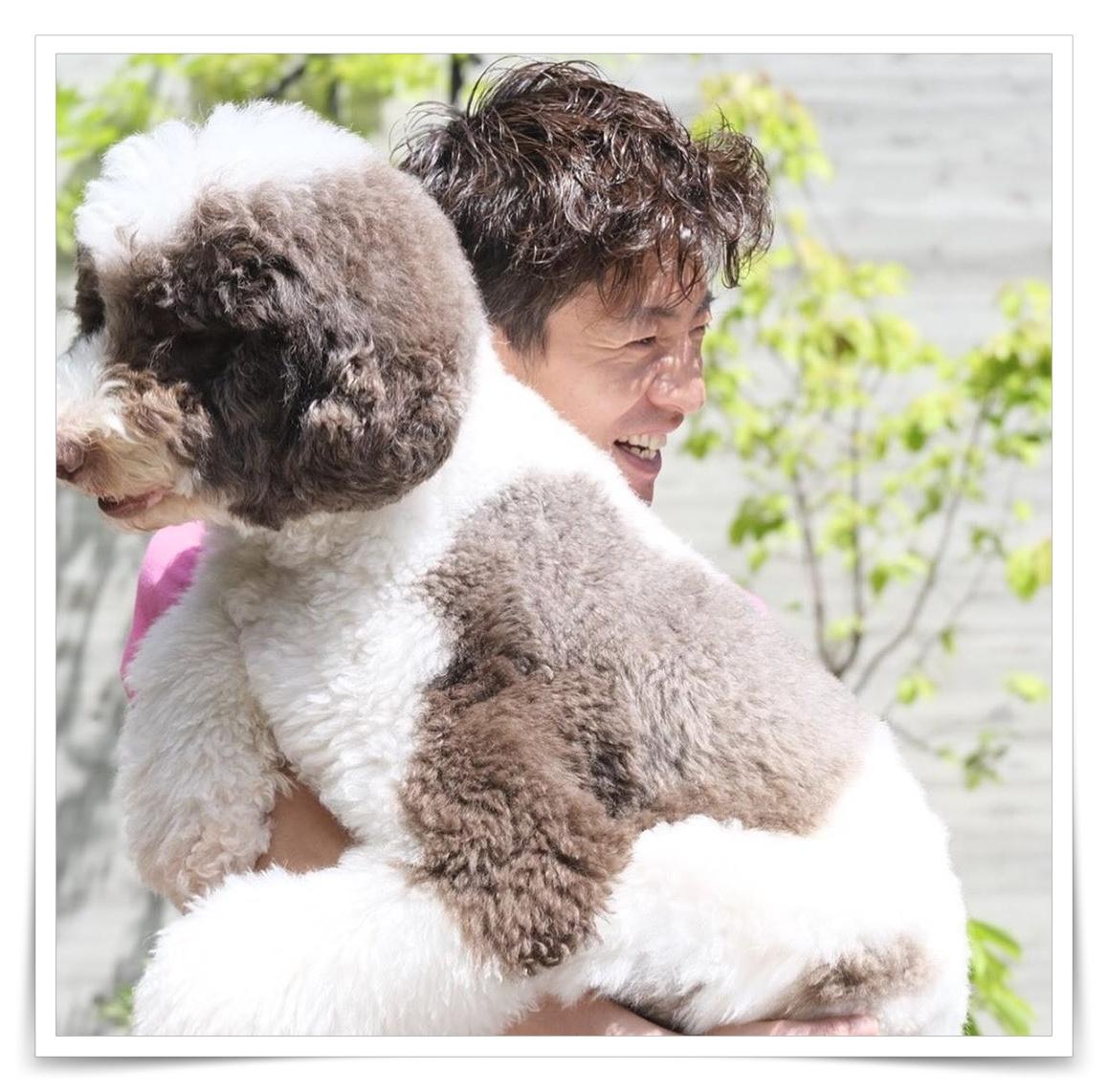 キムタクと犬のインスタ画像