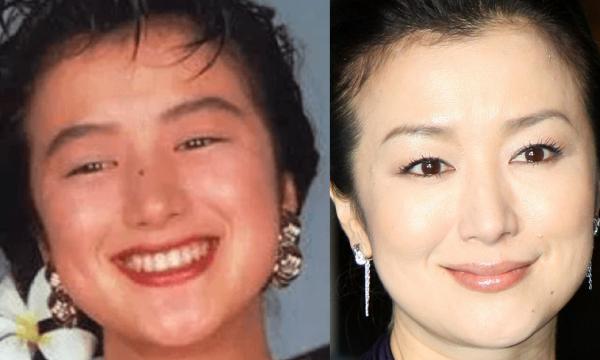 鈴木京香の若い頃のほくろ画像