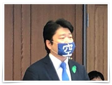 河野太郎大臣,マスク型紙・作り方,自衛隊