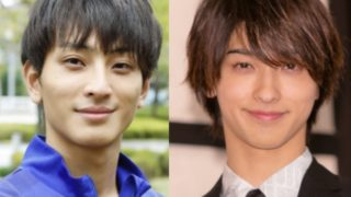 橋岡優輝と横浜流星の似ている画像