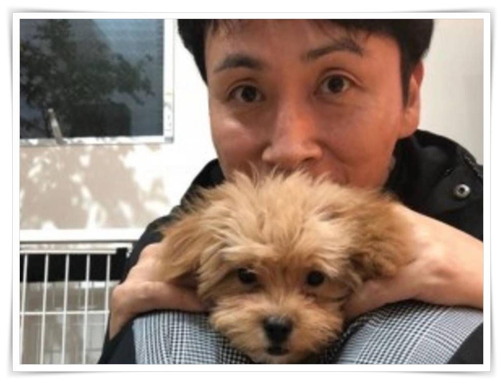 アンジャッシュ児嶋一哉の愛犬画像