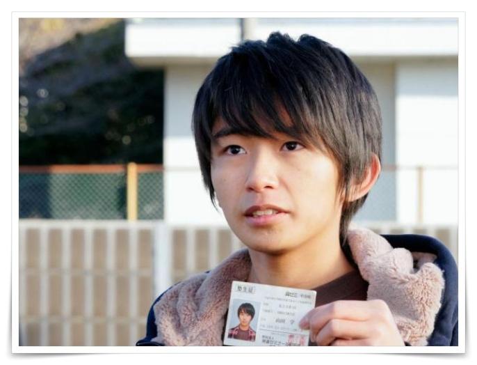 高校生の加藤清史郎の相棒の画像