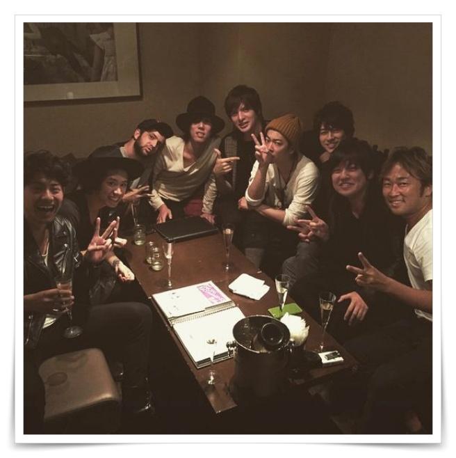 佐藤健の誕生日会の画像
