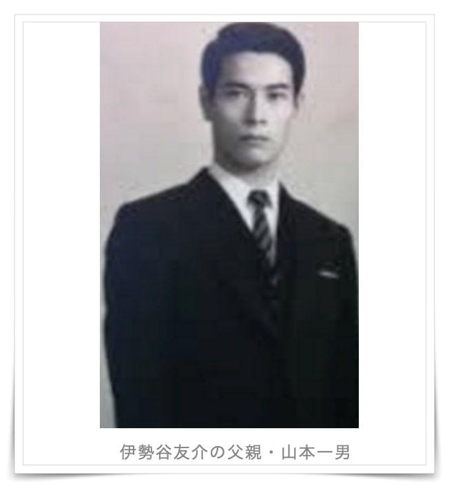山本寛斎と伊勢谷友介の父親の画像