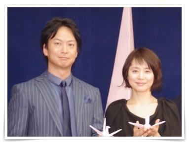 椎名桔平と石田ゆり子の画像