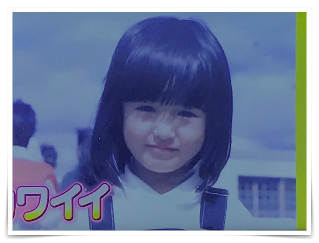 小松美羽の幼少期の画像