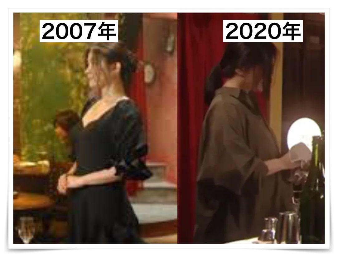 ハケンの品格で篠原涼子が最近太ってお腹が出た画像