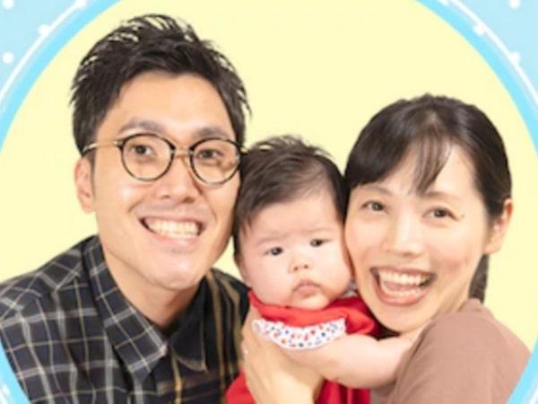 ハナコ菊田と嫁の和泉杏と娘の子供の画像
