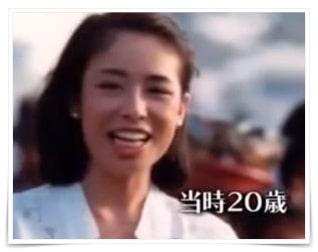 安藤優子の若い頃の画像