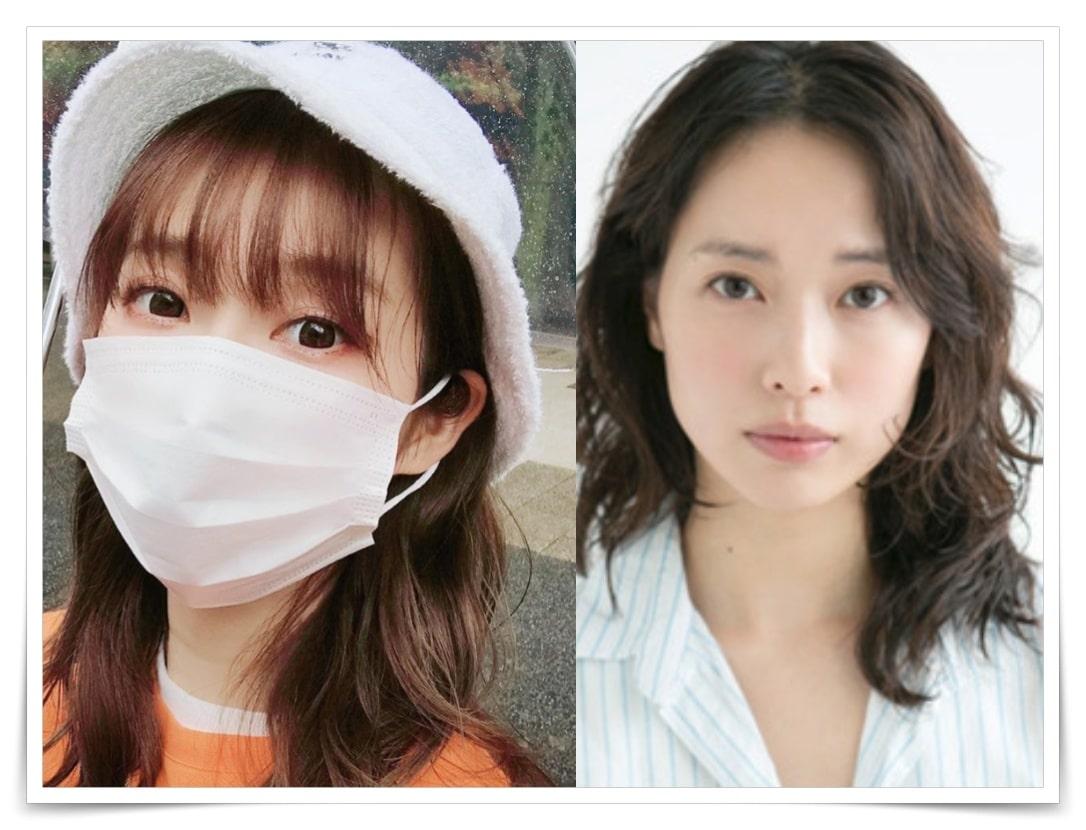 ファーストサマーウイカと戸田恵梨香の似てる画像