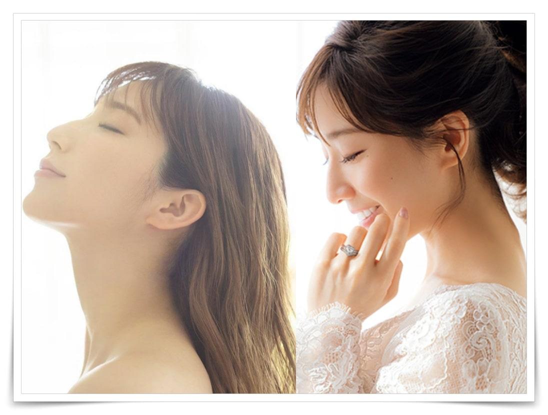ファーストサマーウイカと田中みな実の似てる画像