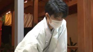 藤井聡太の羽織袴の画像