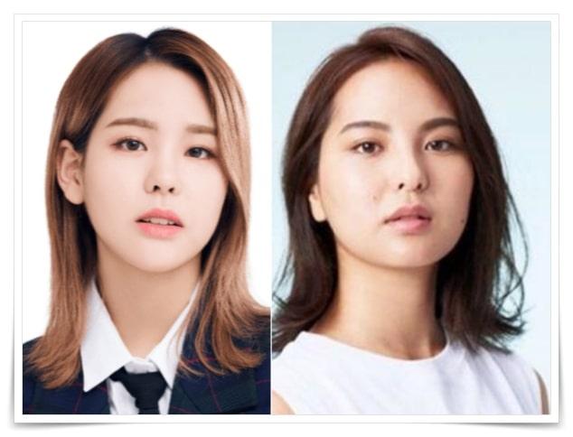 NiziUマコと姉・山口厚子が似てる画像