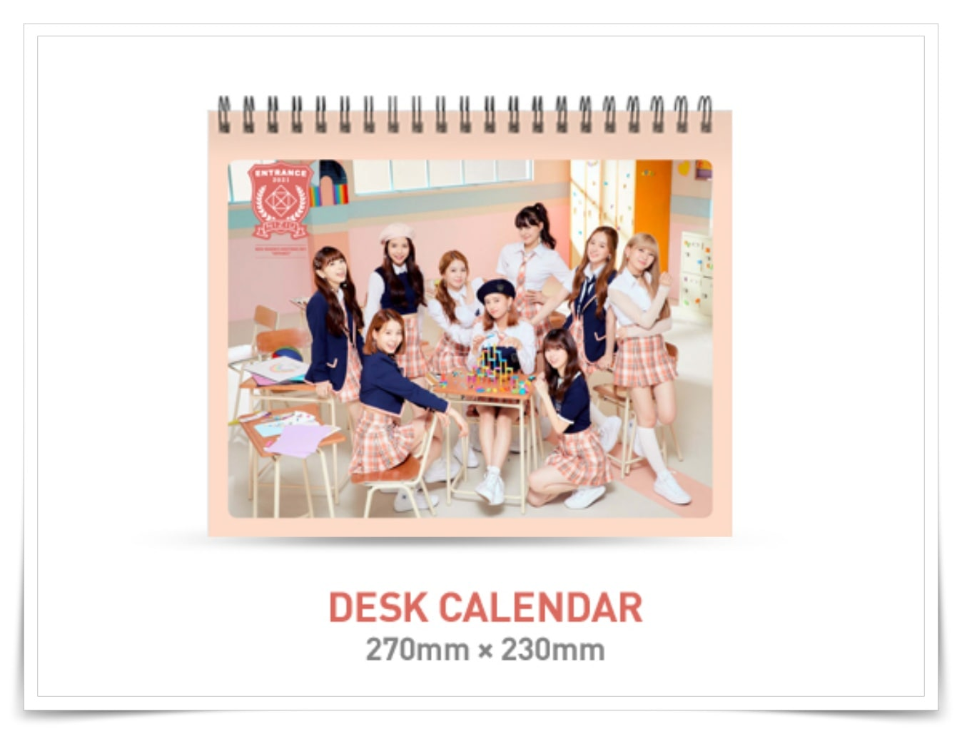 NiziU二ジュー2021カレンダーの画像
