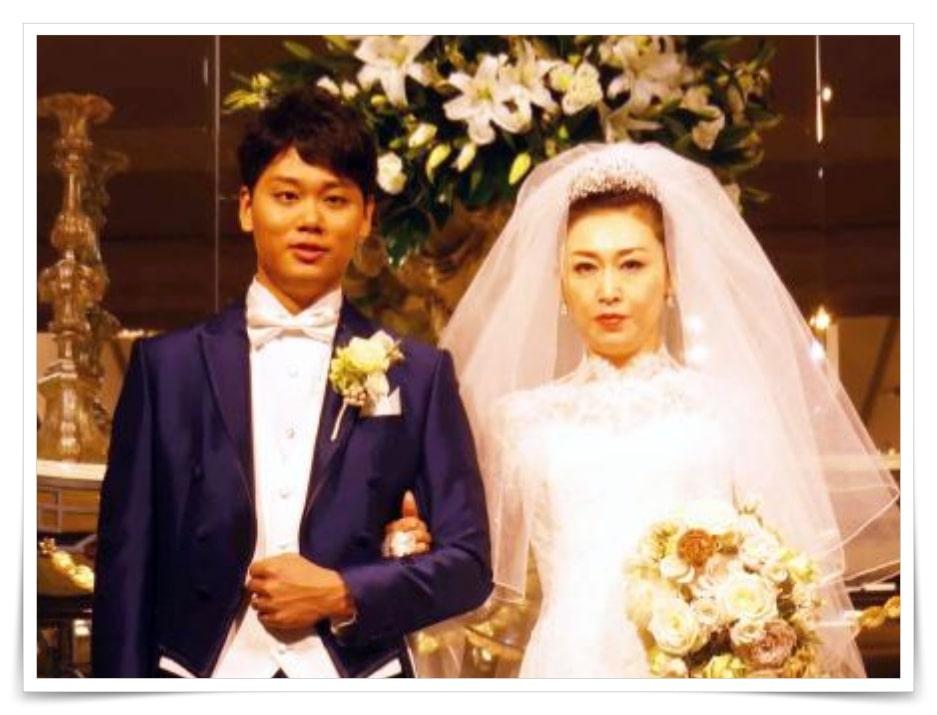 三原じゅん子の結婚式画像