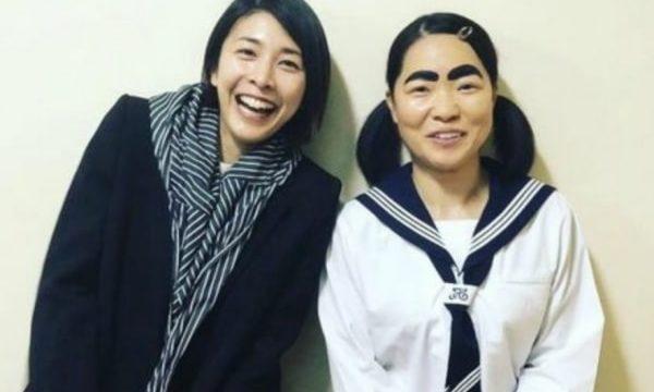 竹内結子の親友のイモトアヤコとの画像