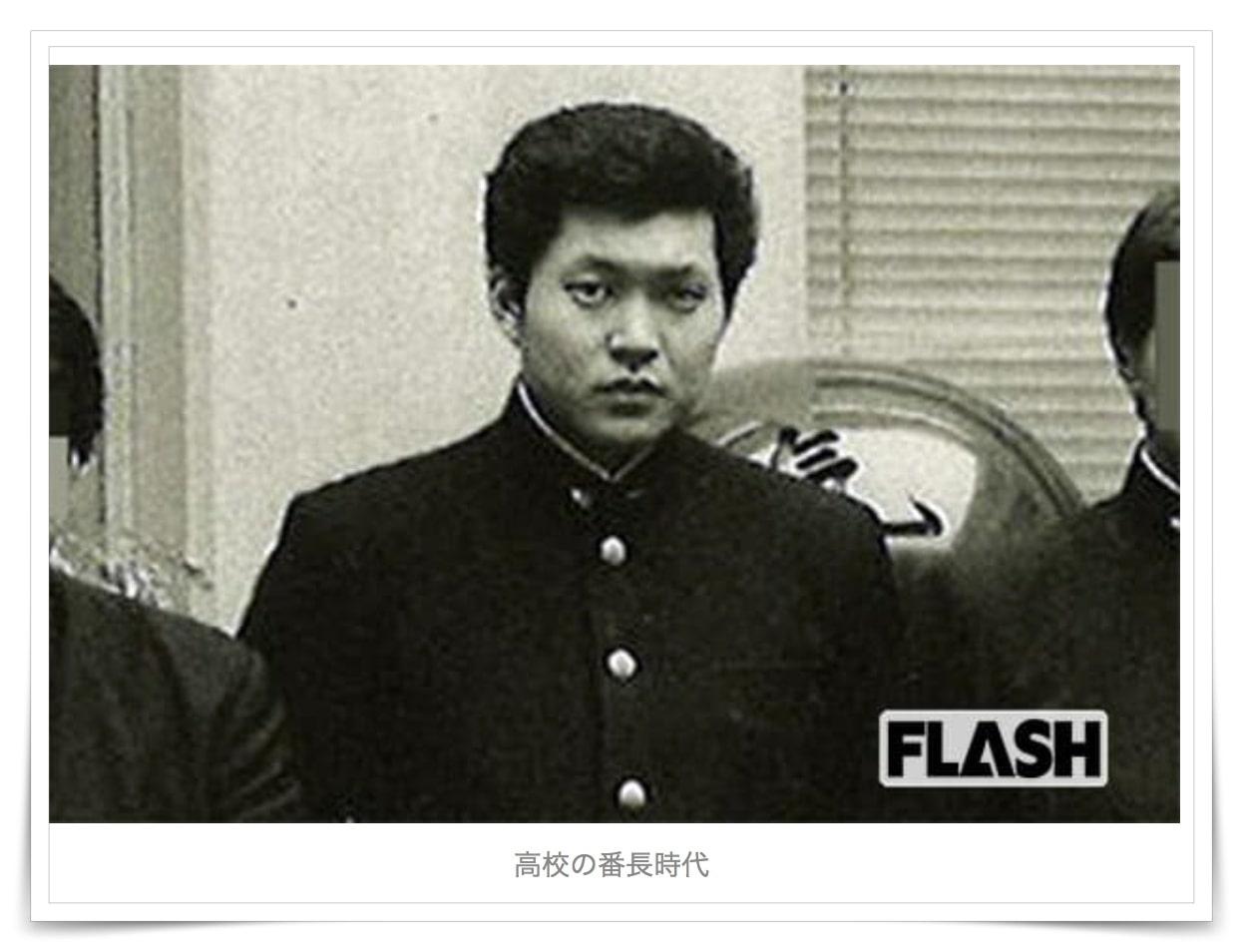 萩生田光一の若い頃の画像