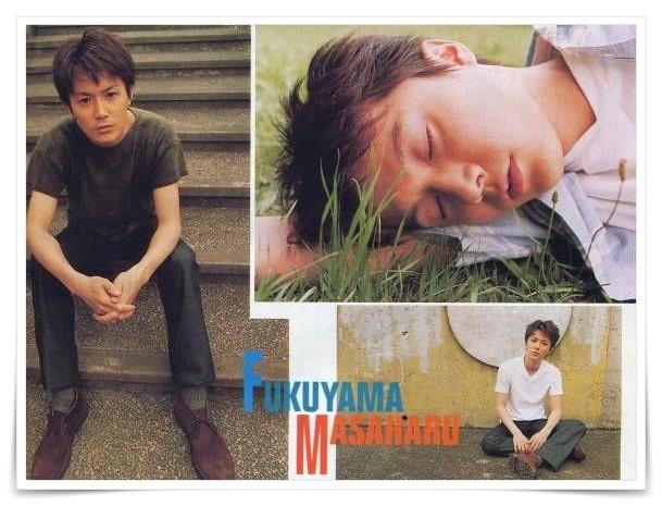 福山雅治の若い頃の高校生の画像