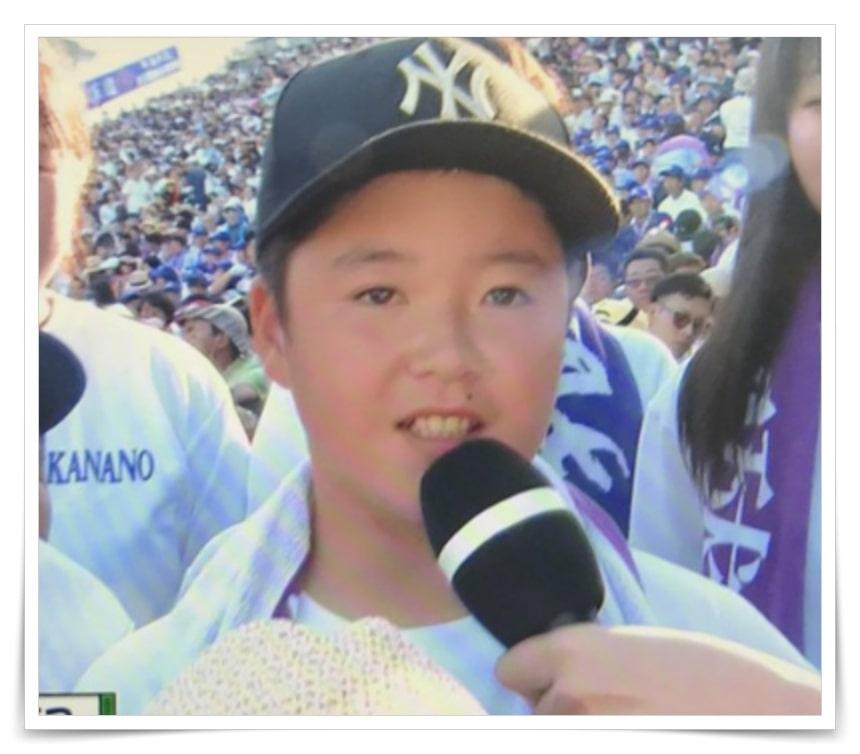 吉田輝星の家族、両親、弟の画像