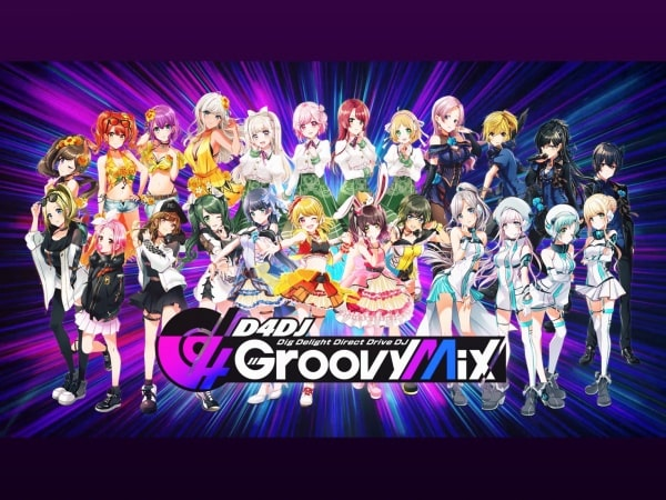 D4DJユニットキャラクター画像