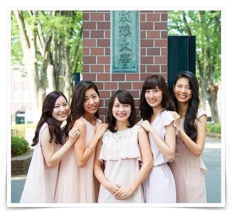 渡辺瑠海アナの大学ミスコン画像