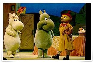 ムーミン人形劇の画像