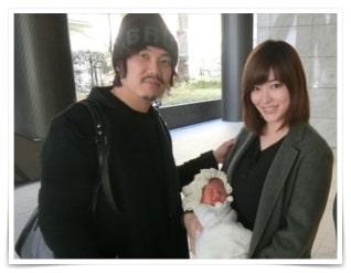 林みなほの旦那・橋本吉史と子供の画像