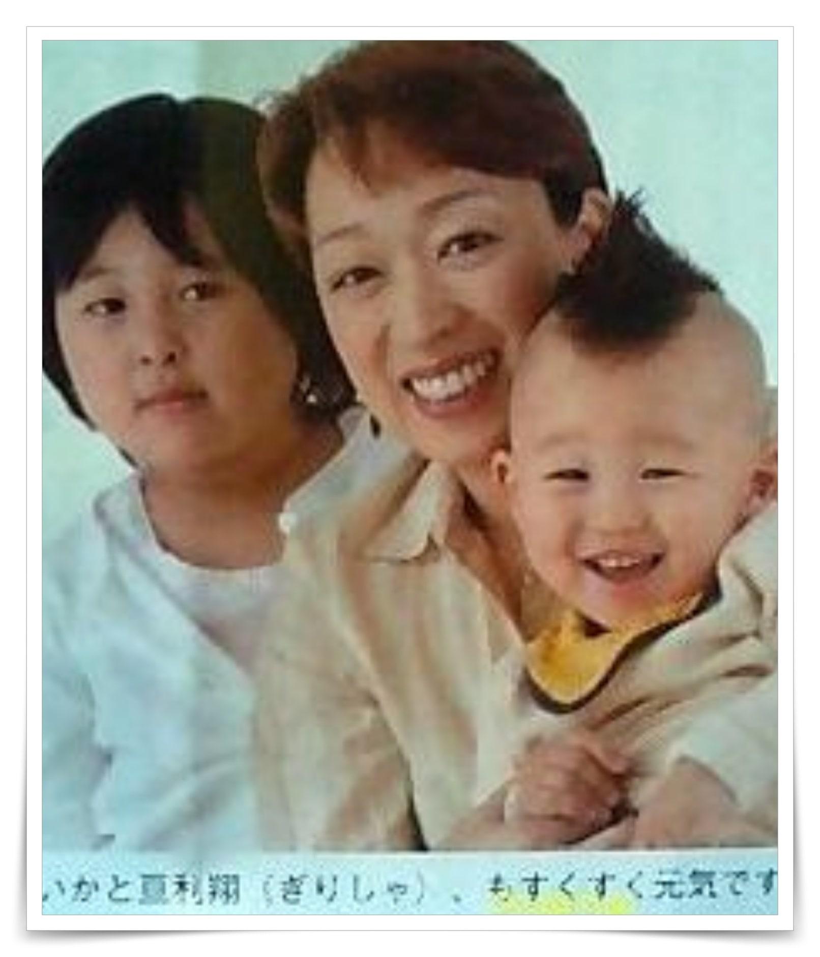 橋本聖子の子供の画像