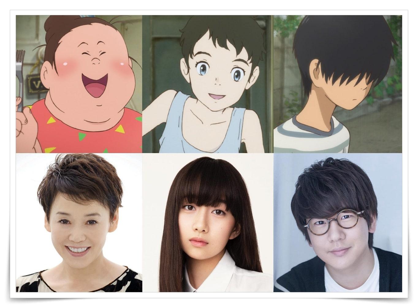 さんまアニメ映画の声優とキャスト監督
