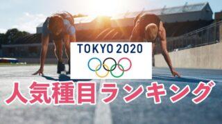 オリンピック2020、2021、人気種目ランキング