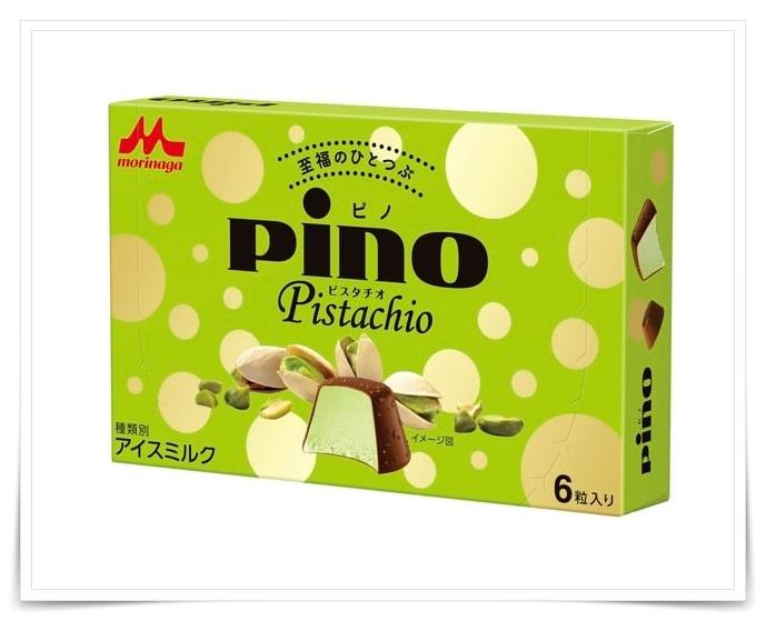 ピノ、ピスタチオ、コンビニ、セブンイレブン