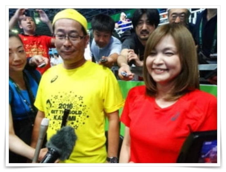 石川佳純、父親、卓球、職業、画像、性格、年齢