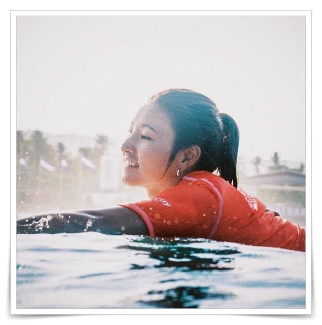 松田詩野のサーフィン歴,実力、成績
