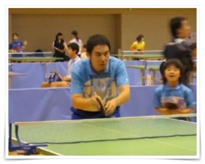 平野美宇、両親、母親、父親