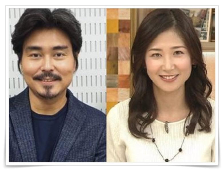 小澤征悦、結婚相手、嫁、桑子真帆アナ