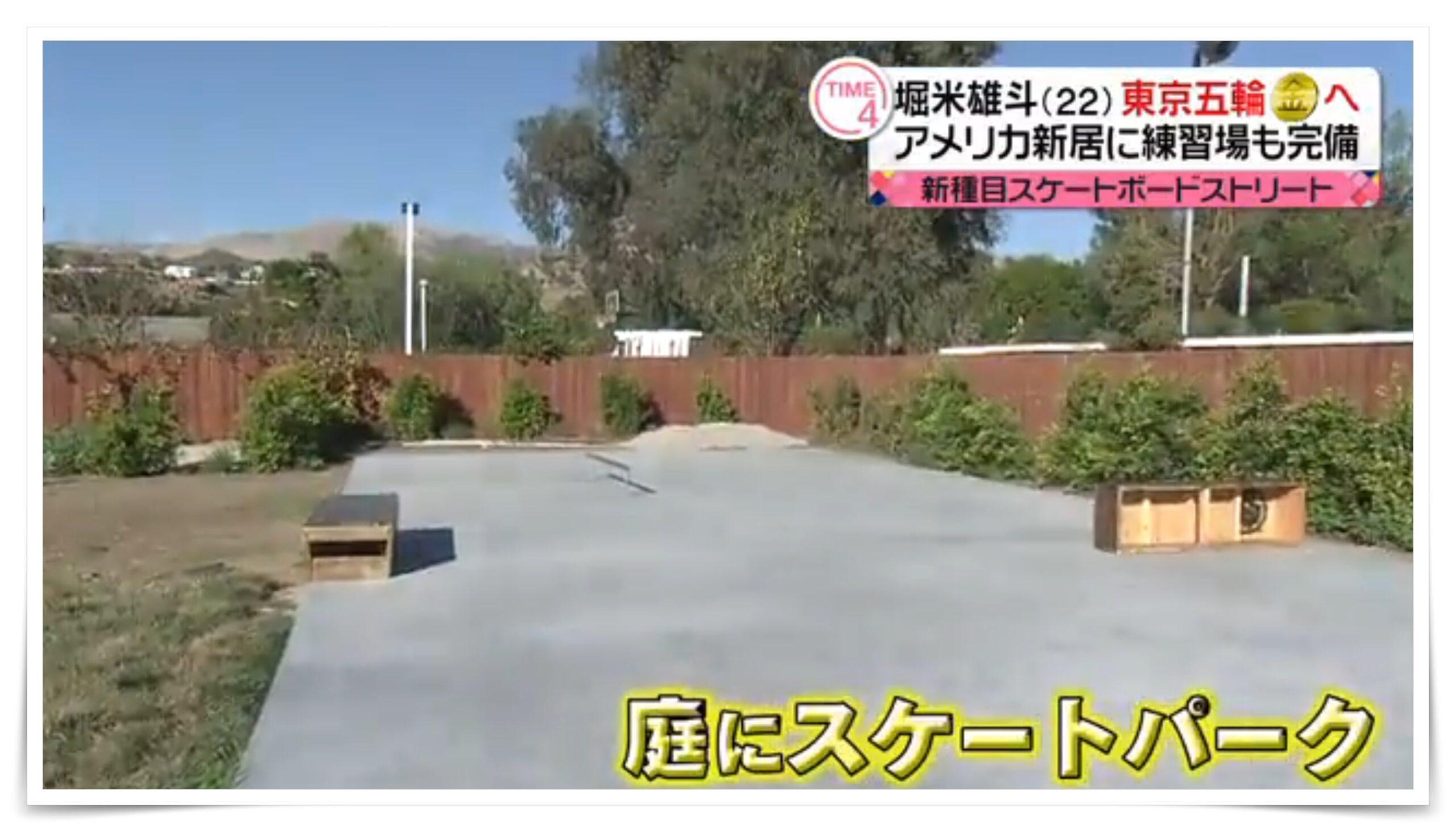 堀米雄斗の豪邸、自宅、家、画像、間取り、年収