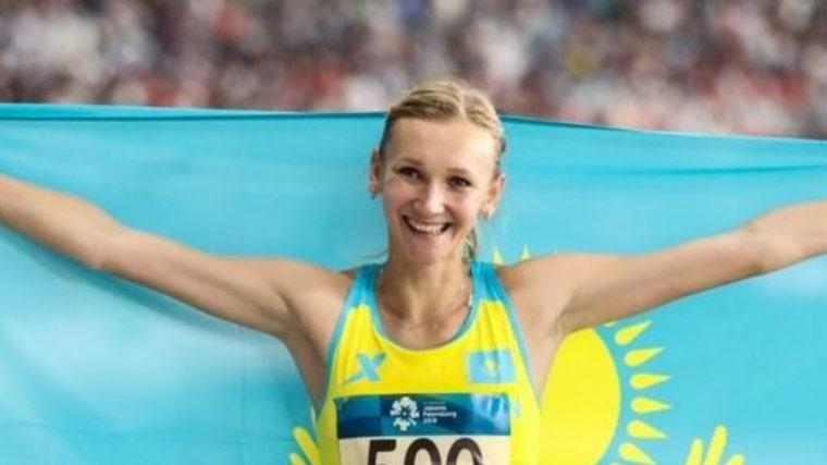 オリガ・ルイパコワ、経歴、結婚、カザフスタン、旗手、三段跳び、オリンピック
